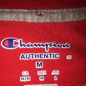 authentic champion long sleeve